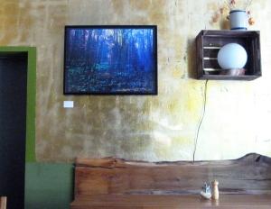 Ein Bild im Café Freysinn - ein Fotografie von Sulamith Sallmann.
