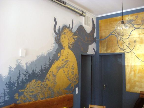 Wandbild Freysinn
